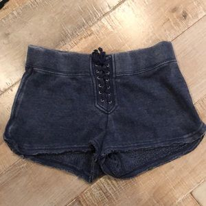 Vintage Havana soft burnout shorts
